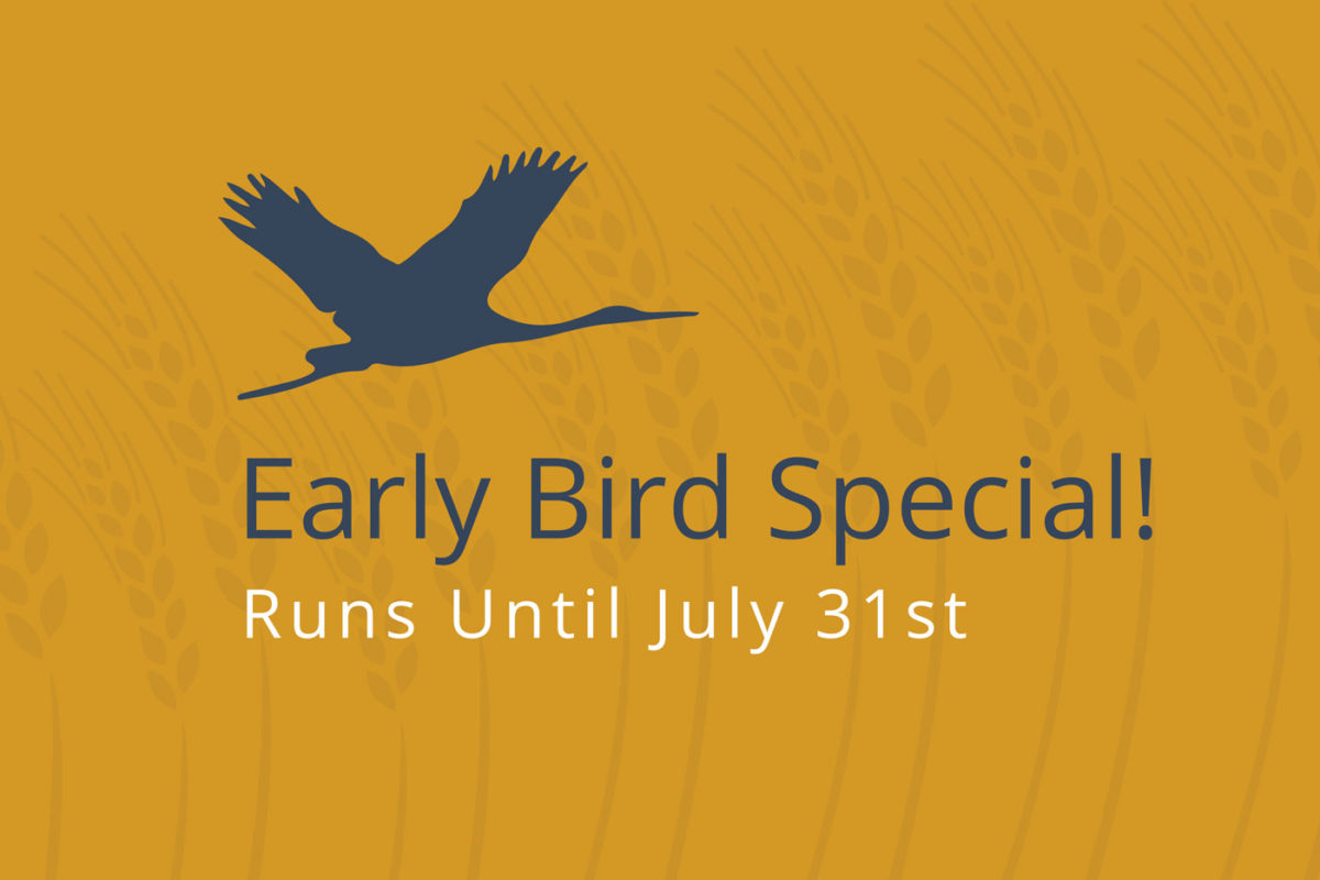Early Bird Registration Extended Until July 31st!